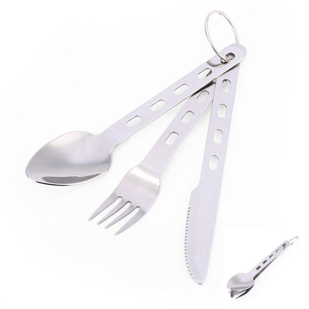 Stainless Steel Tableware with Ring Fork / Spoon / Knife