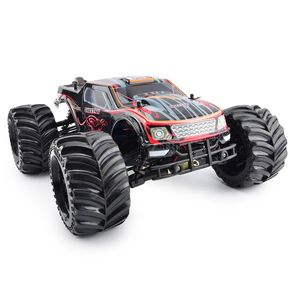 JLB Cheetah 1: 10 2.4GHI 4WD RC Racing Car - RTR - RED ĐEN