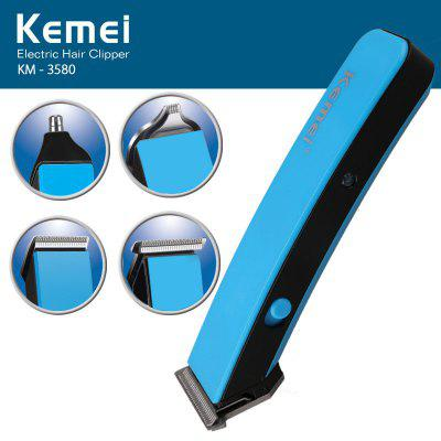 Kemei KM - 3580 4 in 1 Electric Hair Clipper