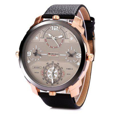 SHIWEIBAO A3612 Casual Men Quartz Watch