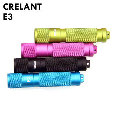 CRELANT E3 Black Flashlight