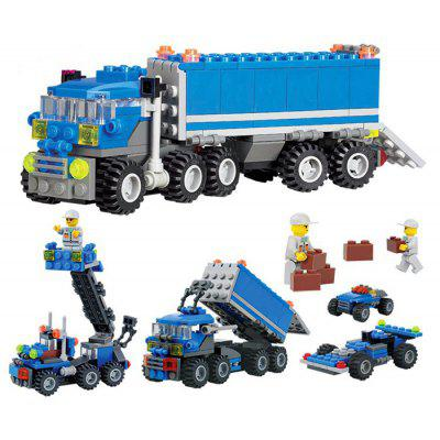 DIY Engineering Vehicle Style Educational Toy - 163pcs