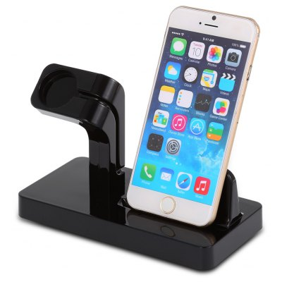 Multifunction 2 in 1 Charging Holder for iWatch Smartphones