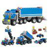 DIY Engineering Vehicle Style Educational Toy - 163pcs - COLORMIX