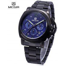 MEGIR 3006 Date Function Quartz Male Watch