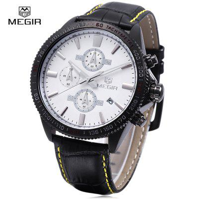 MEGIR 3001 30M Water Resistance Men Quartz Watch
