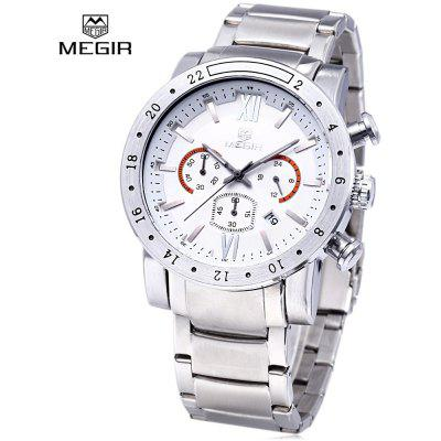 MEGIR 3008 Quartz Male Watch Date Function