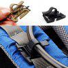 5st Roterende Drink Tube Clamp Pipe Clip voor 2 / 2.5cm Breedte Strap - COLORMIX