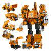 Transform Warrior 3D Robot Car Building Block Puzzle - COLORMIX