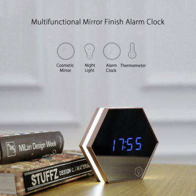 Multifunctional Mirror Finish Alarm Clock
