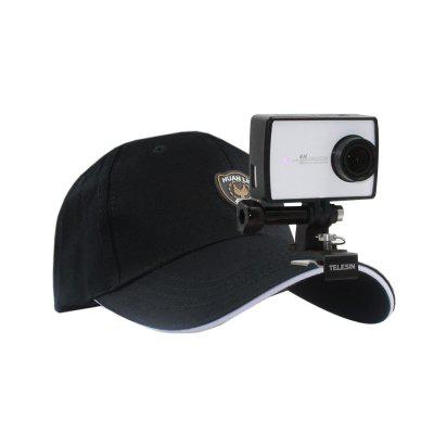 TELESIN Peak Cap Fixed Stand Mount for Action Camera