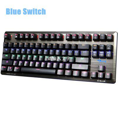 E - 3LUE K727 Gaming Mechanical Keyboard with Blue Switch