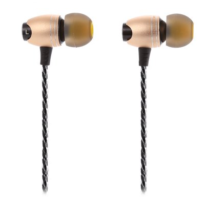 LZ - Z03A HiFi Music In Ear Earphones Noise CancelingEarbud Headphones<br>LZ - Z03A HiFi Music In Ear Earphones Noise Canceling<br><br>Application: Portable Media Player, Mobile phone, Computer<br>Brand: LZ<br>Cable Length (m): 1.2m<br>Color: Gold<br>Compatible with: Computer<br>Connectivity: Wired<br>Driver type: Dynamic<br>Driver unit: 9.2mm<br>Frequency response: 15Hz - 22500Hz<br>Function: Noise Cancelling, HiFi<br>Impedance: 16ohms<br>Input Power: 5mW<br>Model: LZ-Z03A<br>Package Contents: 1 x Earphones, 4 x Earbud Tips ( L / S ), 6 x Black Earbud Tips ( L / M / S ), 1 x Clip, 2 x Ear Hook, 1 x Chinese and English User Manual<br>Package size (L x W x H): 17.00 x 10.00 x 6.00 cm / 6.69 x 3.94 x 2.36 inches<br>Package weight: 0.151 kg<br>Plug Type: 3.5mm<br>Product weight: 0.014 kg<br>Sensitivity: 110dB ± 3dB<br>Type: In-Ear<br>Wearing type: In-Ear
