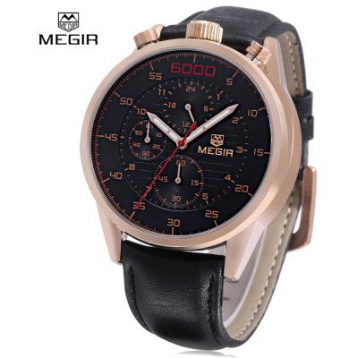MEGIR 3005G Male Quartz Watch