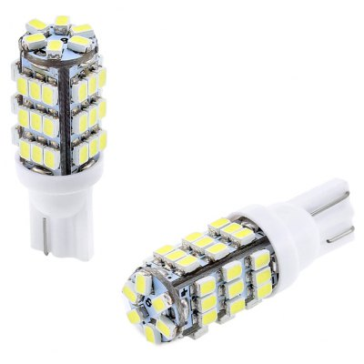 2PCS T10 42 SMD 3528 LED Car Lamp 20W 6000K 230LM