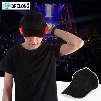 BRELONG Blinkende LED Baseball Peaked Cap