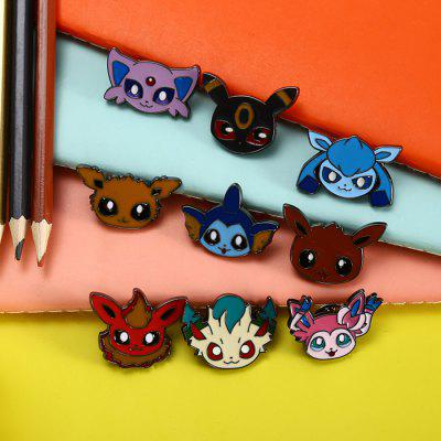Cartoon Alloy Badge Movie Product Children PresentMovies &amp; TV Action Figures<br>Cartoon Alloy Badge Movie Product Children Present<br><br>Appliable Crowd: Unisex<br>Materials: Alloy<br>Nature: Badge<br>Package Contents: 9 x Badge<br>Package size: 15.50 x 12.00 x 3.00 cm / 6.1 x 4.72 x 1.18 inches<br>Package weight: 0.170 kg<br>Specification: Japan