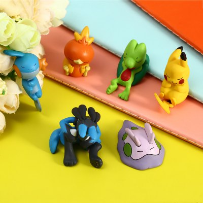 Plastic Action Figure Toy   6pcs   set