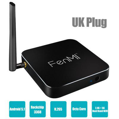 FenMI X1 Internet TV Box Android Rockchip 3368 Octa Core
