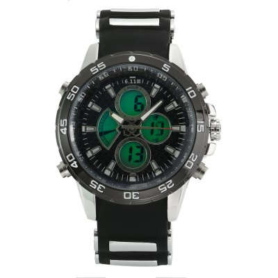 6.11 8157A Men Luminous Dial Sports Digital Quartz Watch
