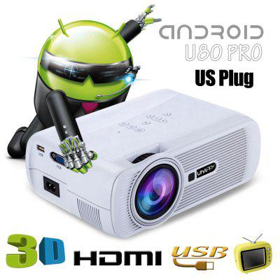 UhAPPy U80 PRO LCD Projector Android 4.4