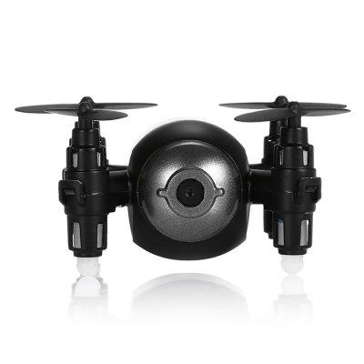 GTeng T906W - 1 Mini RC QuadcopterRC Quadcopters<br>GTeng T906W - 1 Mini RC Quadcopter<br><br>Age: Above 14 years old<br>Battery: 3.7V 200mAh<br>Brand: GTeng<br>Built-in Gyro: 6 Axis Gyro<br>Camera Pixels: 0.3MP<br>Channel: 4-Channels<br>Charging Time.: 60 minutes<br>Detailed Control Distance: 20~25m<br>Features: Radio Control, WiFi FPV<br>Flying Time: 4-7mins<br>Functions: Camera, WiFi Connection, Voice control, Up/down, Turn left/right, One Key Landing, Left / Right Hand Throttle Switch, Gravity Sense Control, FPV, Forward/backward, One Key Taking Off<br>Kit Types: RTF<br>Level: Beginner Level<br>Material: Metal<br>Mode: Mode 1 &amp; Mode 2(Left &amp; Right Hand Throttle)<br>Model: T906W - 1<br>Motor Type: Brushed Motor<br>Package Contents: 1 x Quadcopter, 1 x USB Cable, 4 x Spare Propeller<br>Package size (L x W x H): 15.00 x 15.00 x 1.00 cm / 5.91 x 5.91 x 0.39 inches<br>Package weight: 0.2200 kg<br>Product size (L x W x H): 5.90 x 5.50 x 3.00 cm / 2.32 x 2.17 x 1.18 inches<br>Product weight: 0.0200 kg<br>Radio Mode: Mode 1 &amp; Mode 2 ?Left &amp; Right-hand Throttle?<br>Remote Control: WiFi Remote Control<br>Transmitter Power: 2 x 1.5V AA battery(not included)<br>Type: Quadcopter