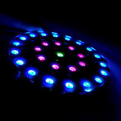 Wearable RGB LED Kristall Energie Ring Kit