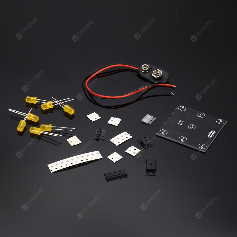 Electronic Dice Suite Touch Key for DIY Project