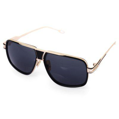 1722 UV-resistant Sunglasses with Metal Frame / PC Lens
