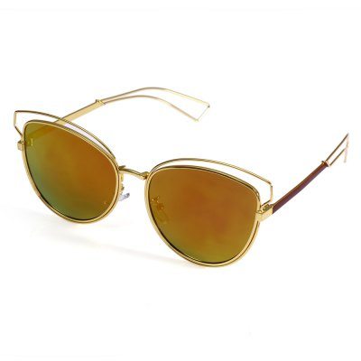 2101 UV-resistant Sunglasses with Metal Frame / PC Lens