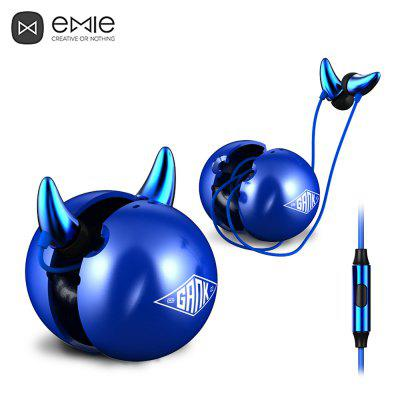 EMIE ME01 - C HiFi Music In Ear Stereo Earphones with Mic