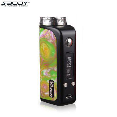 S - BODY Legend DNA75W TC Mod with Evolv DNA75 Chip