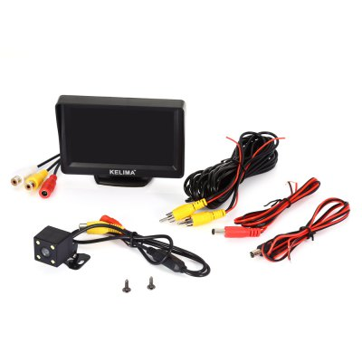 KELIMA Car Rear View Camera 2 in 1 Set