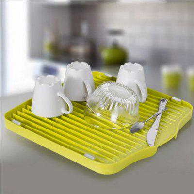SUMSHUN Multifunctional Silicone Draining Storage Tray Fruit Plate