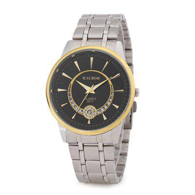 KALBOR 5217 Business Men Quartz Watch