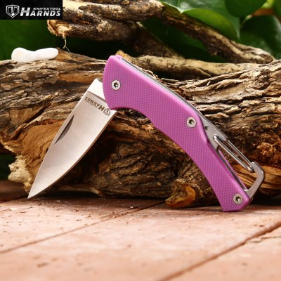 Harnds Lark CK1101PP Mini Foldable Knife with No Lock