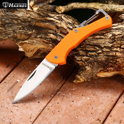 Harnds Lark CK1101OG Mini Foldable Knife with No Lock