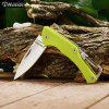 Harnds Lark CK1101FG Mini Foldable Knife with No Lock - GREEN