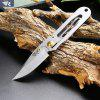 Buy SILVER Sanrenmu 7001 LUG SZ Foldable Knife with Frame Lock for $7.60 in GearBest store