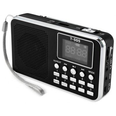 T - 505 LED Display Screen Speaker with TF Card Read Function