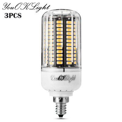3 x YouOKLight LED Corn Bulb