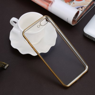 TPU Soft Protective Phone Case for iPhone 7 PlusiPhone Cases/Covers<br>TPU Soft Protective Phone Case for iPhone 7 Plus<br><br>Color: Gold,Rose Gold,Silver<br>Compatible for Apple: iPhone 7 Plus<br>Features: Back Cover, Anti-knock<br>Material: TPU<br>Package Contents: 1 x Protective Case<br>Package size (L x W x H): 21.00 x 11.50 x 2.50 cm / 8.27 x 4.53 x 0.98 inches<br>Package weight: 0.068 kg<br>Product size (L x W x H): 16.10 x 8.00 x 0.85 cm / 6.34 x 3.15 x 0.33 inches<br>Product weight: 0.023 kg<br>Style: Transparent