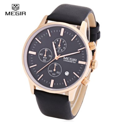 MEGIR 2011 Male Quartz Watch