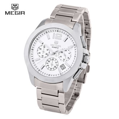 MEGIR 5006 Water Resistant Male Quartz Watch