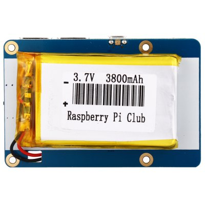 Portable Lithium Battery Expansion Board for Raspberry Pi