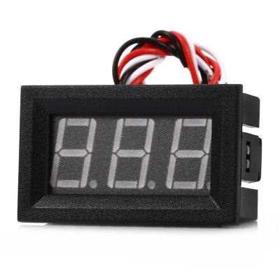 V27D D0 - 100V Blue Digital LED DC Voltmeter Module