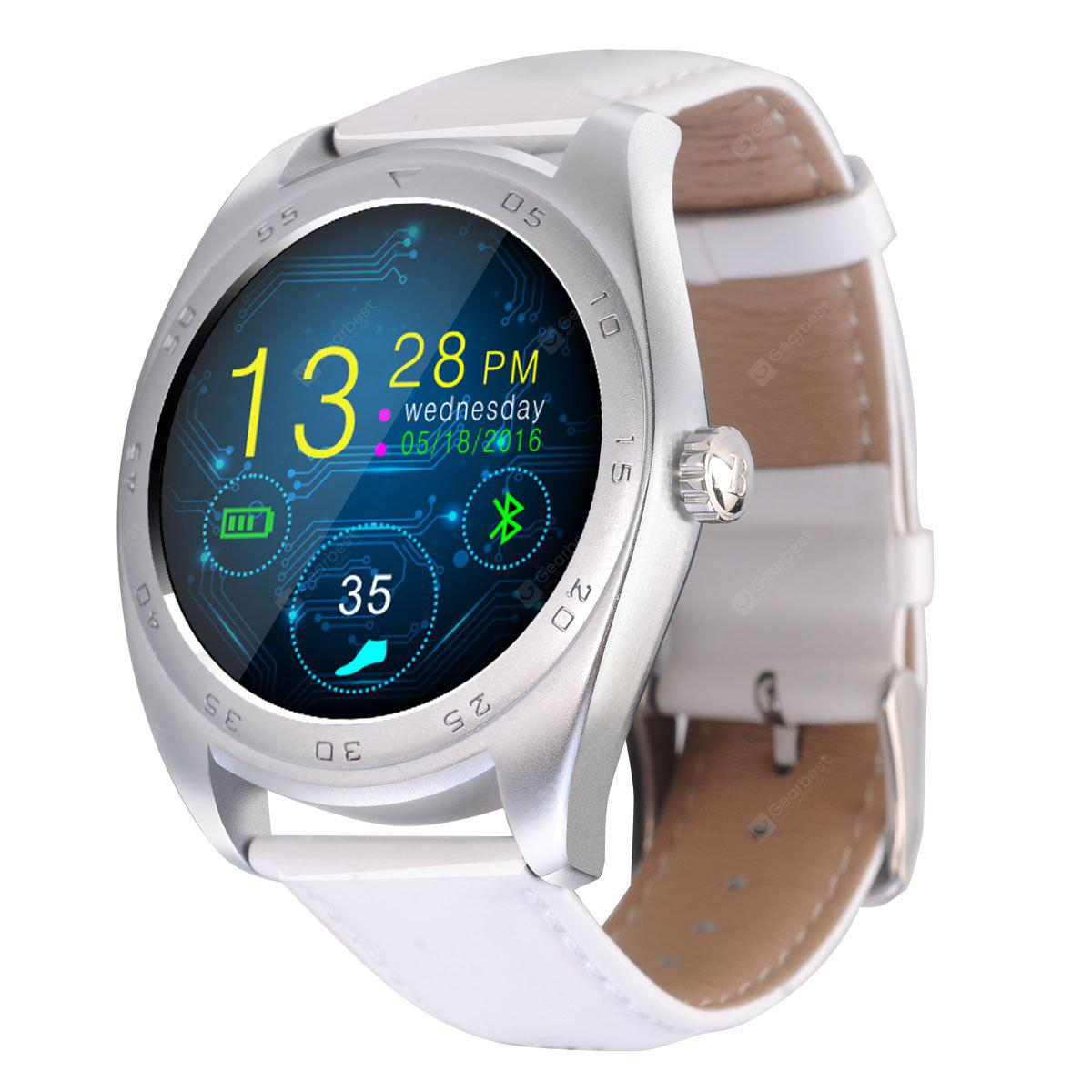 CACGO K89 Bluetooth 4.0 Heart Rate Monitor Smart Watch ...