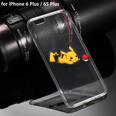 Transparent Protective Phone Case for iPhone 6 Plus / 6S Plus