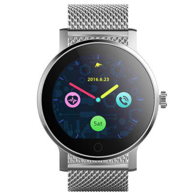 SMA - 09 Bluetooth 4.0 Smart WatchSmart Watches<br>SMA - 09 Bluetooth 4.0 Smart Watch<br><br>Alert type: Vibration, Ring<br>Available Color: Black,Brown,Silver<br>Band material: Stainless Steel<br>Band size: 23.8 x 2.2 cm / 9.37 x 0.87 inches<br>Battery  Capacity: 300mAh<br>Bluetooth calling: Phone call reminder<br>Bluetooth Version: Bluetooth 4.0<br>Brand: SMA<br>Built-in chip type: MTK2502<br>Case material: Stainless Steel<br>Charging Time: About 2hours<br>Compatability: Android 4.4 / iOS 8.0 and Above Systems<br>Compatible OS: Android, IOS<br>Dial size: 4.3 x 4.3 x 1.3 cm / 1.69 x 1.69 x 0.51 inches<br>Find phone: Yes<br>Groups of alarm: 5<br>Health tracker: Heart rate monitor,Pedometer,Sedentary reminder,Sleep monitor<br>IP rating: IP54<br>Language: Dutch,English,French,German,Italian,Polish,Portuguese,Russian,Spanish,Turkish<br>Locking screen: 6<br>Messaging: Message reminder<br>Notification: Yes<br>Notification type: Wechat, Facebook, G-mail, Twitter<br>Operating mode: Touch Screen<br>Other Function: Voice recorder, Calculator, Alarm, Calender, Weather forecast<br>Package Contents: 1 x SMA - 09 Smart Watch, 1 x Charging Cable, 1 x English User Manual<br>Package size (L x W x H): 9.80 x 9.80 x 8.00 cm / 3.86 x 3.86 x 3.15 inches<br>Package weight: 0.230 kg<br>People: Female table,Male table<br>Product size (L x W x H): 23.80 x 4.30 x 1.30 cm / 9.37 x 1.69 x 0.51 inches<br>Product weight: 0.074 kg<br>RAM: 128MB<br>Remote control function: Remote music, Remote Camera<br>ROM: 64MB<br>Screen resolution: 240 x 240<br>Shape of the dial: Round<br>Standby time: About 2 - 3 Days<br>Type of battery: Polymer Battery<br>Waterproof: Yes