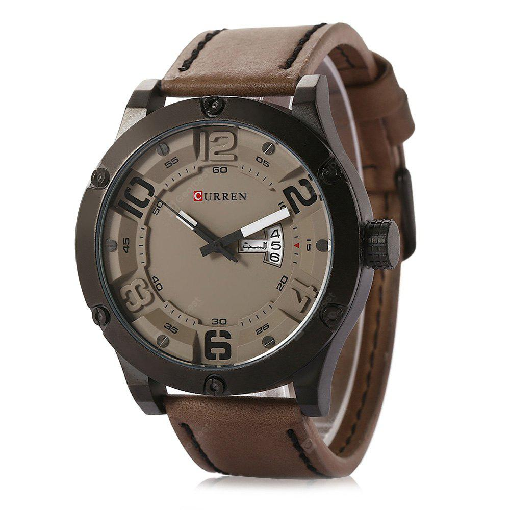 CURREN 8251 Casual Date Day Display Men Quartz Watch